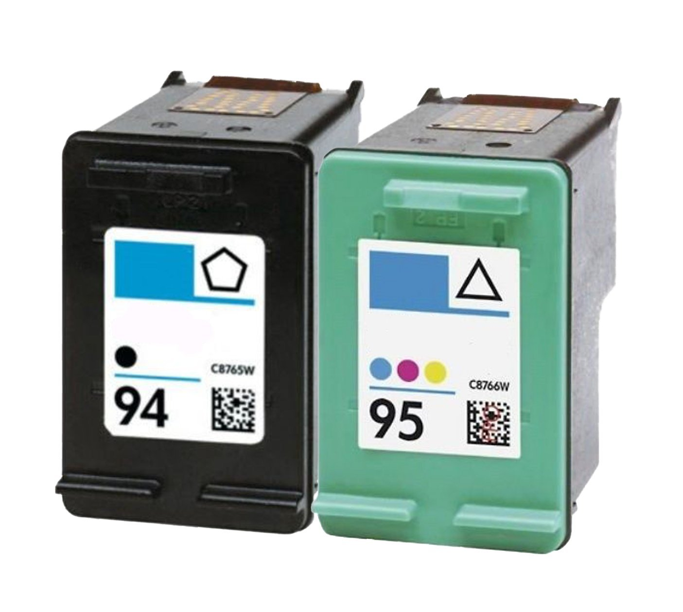 Get Quotations · OCProducts Refilled HP 94 and HP 95 Ink Cartridge  Replacement for HP Officejet 150 100 H470