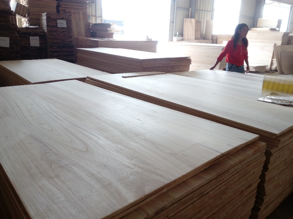 Solid Wood Paulownia Tomentosa Wood Sawn Timber Solid Wood