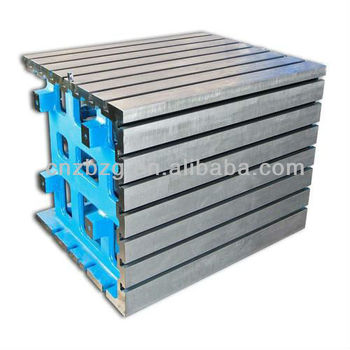 High Precision Cast Iron Box Angle Plate With T Slot