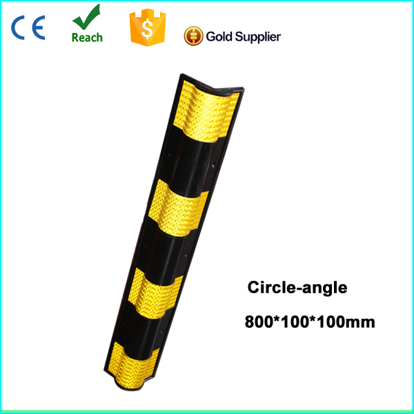 price very low yellow film rubber corner protector (circle angle)