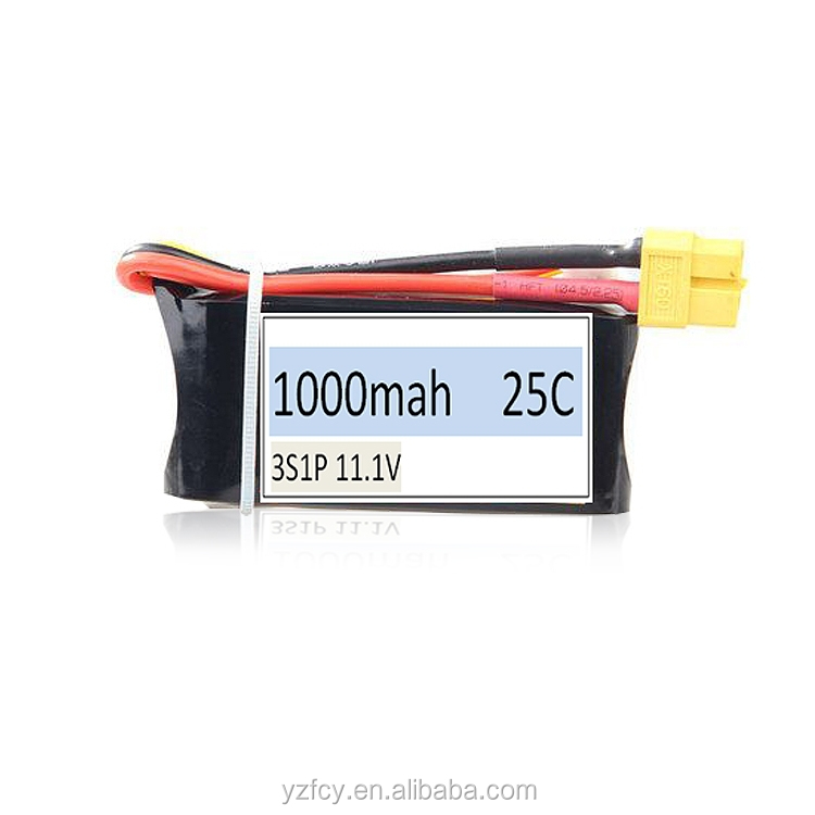 rc lipo 12v dc lipo battery pack 1000mah for RC Helicopter