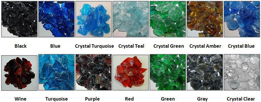 Decorative Crushed Glass