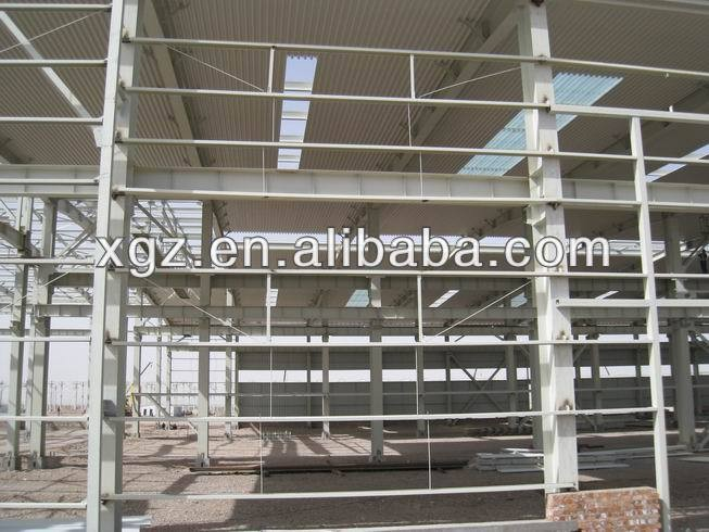 prefabricated construction steel structure terminal warehouse
