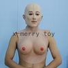 X-MERRY latex fake breast for man ,transgender