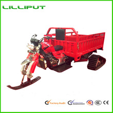 Motorized Gasoline Engine Snow Field Tricycle for Winter