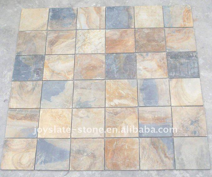natural multi colored floor slate tile buy colored floor slate natural slate tile flooring slate tile product on alibaba com