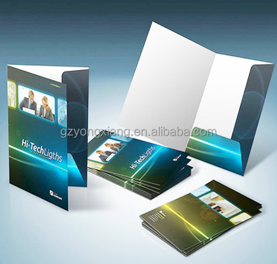 A4 Presentation Folder <strong>Printing</strong> in Guangzhou China