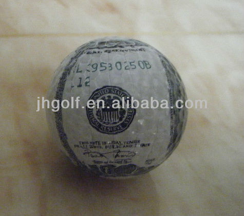 Best Selling ! In stock & Customized-- US money golf ball