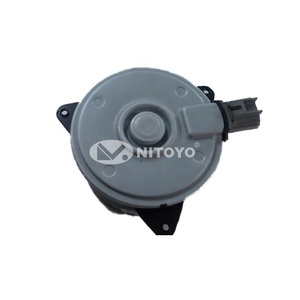 NITOYO 12V RADIATOR COOLING FAN MOTOR Used For TO-YOTA OE 16363-0M020 DENSO AE168000-9010