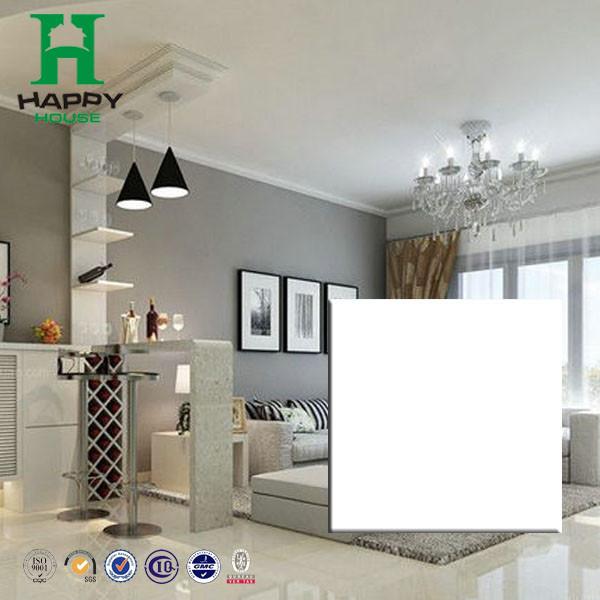 White High Gloss Floor Tile8x8 Ceram Floor Tilepure White