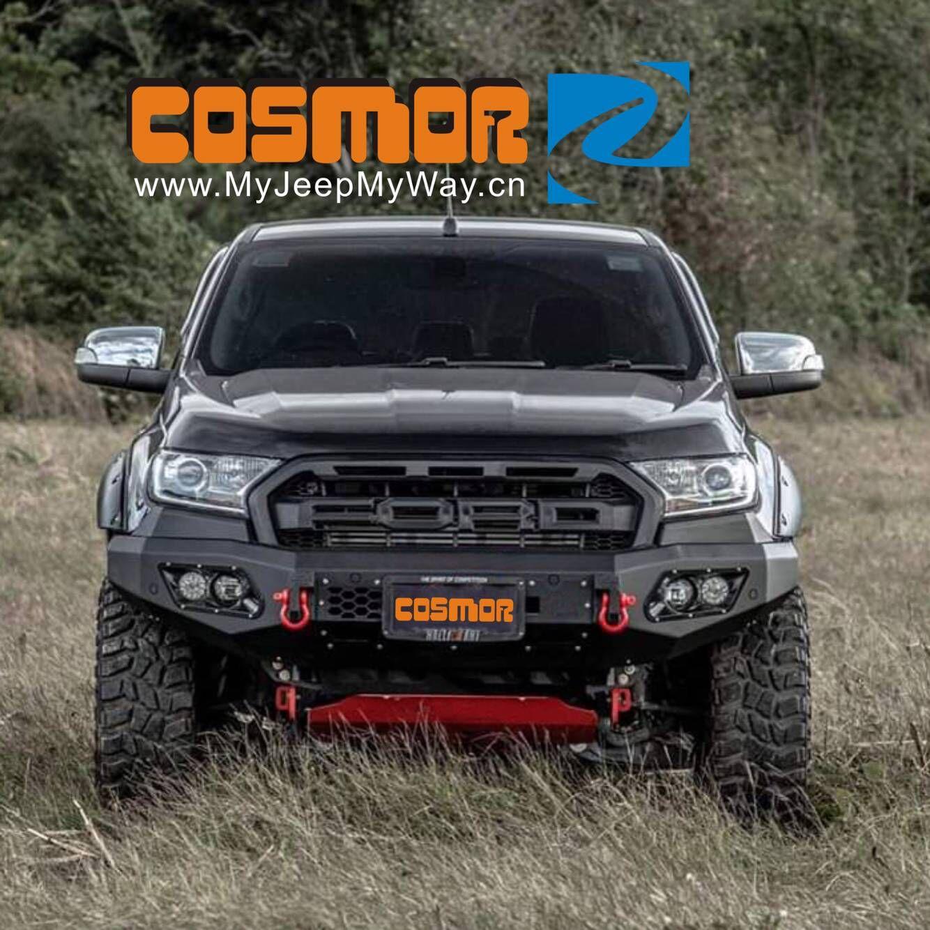 Pickup Truck Steel bumper, FrontBumper, Aluminum Bumper for Ford Ranger T6 T7,Vogo, Reve, Recco, NP300,