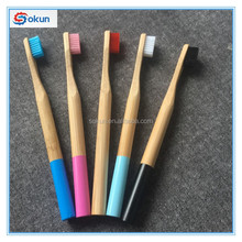 Optional handles straight handle toothbrush custom logo