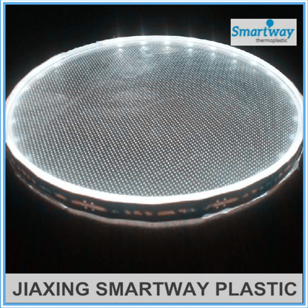 virgin Mitsubishi materials dotting acrylic light panel