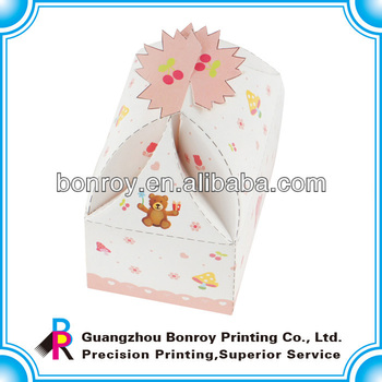 2014 new foldable paper box for gift packaging
