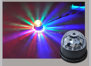 DJ/bar/night club/parties decoration led lights cheap wholesale music control LED magic lights