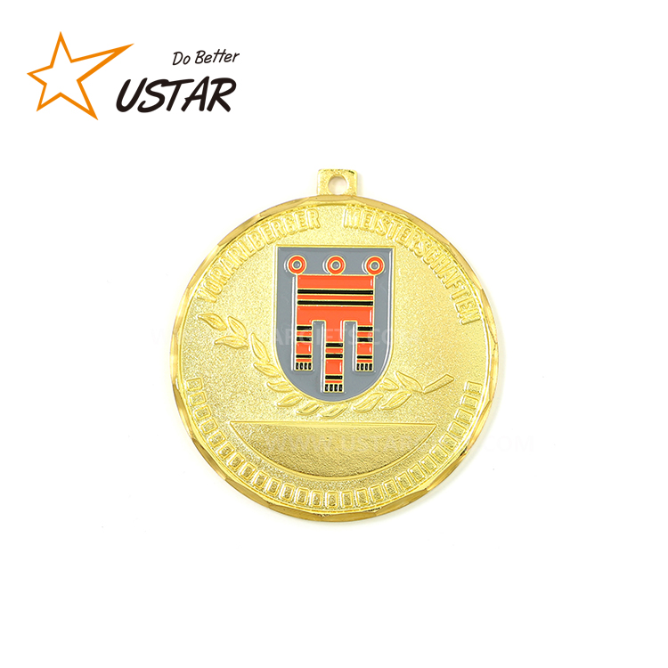 China Medal factory cheap sports custom gold medal