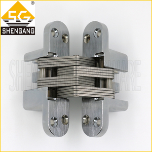 Zinc Alloy / Stainless Steel Heavy Duty Concealed Door Hinge