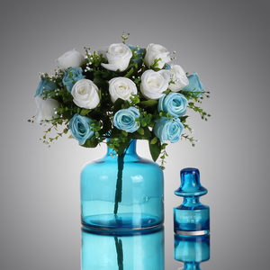 Clear Glass Vase /Home Decoration Different Types Of Flower Glass Vase With Flower