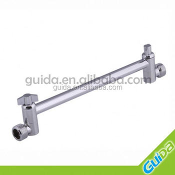 wall extend shower arm all directional with both end male thread