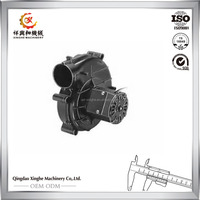 OEM metal casting steel air conditioning spare parts air conditioning parts