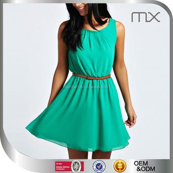 Stilvolle Kleider Grüne Indische Rock Und Bluse Wear Western Kleid ...