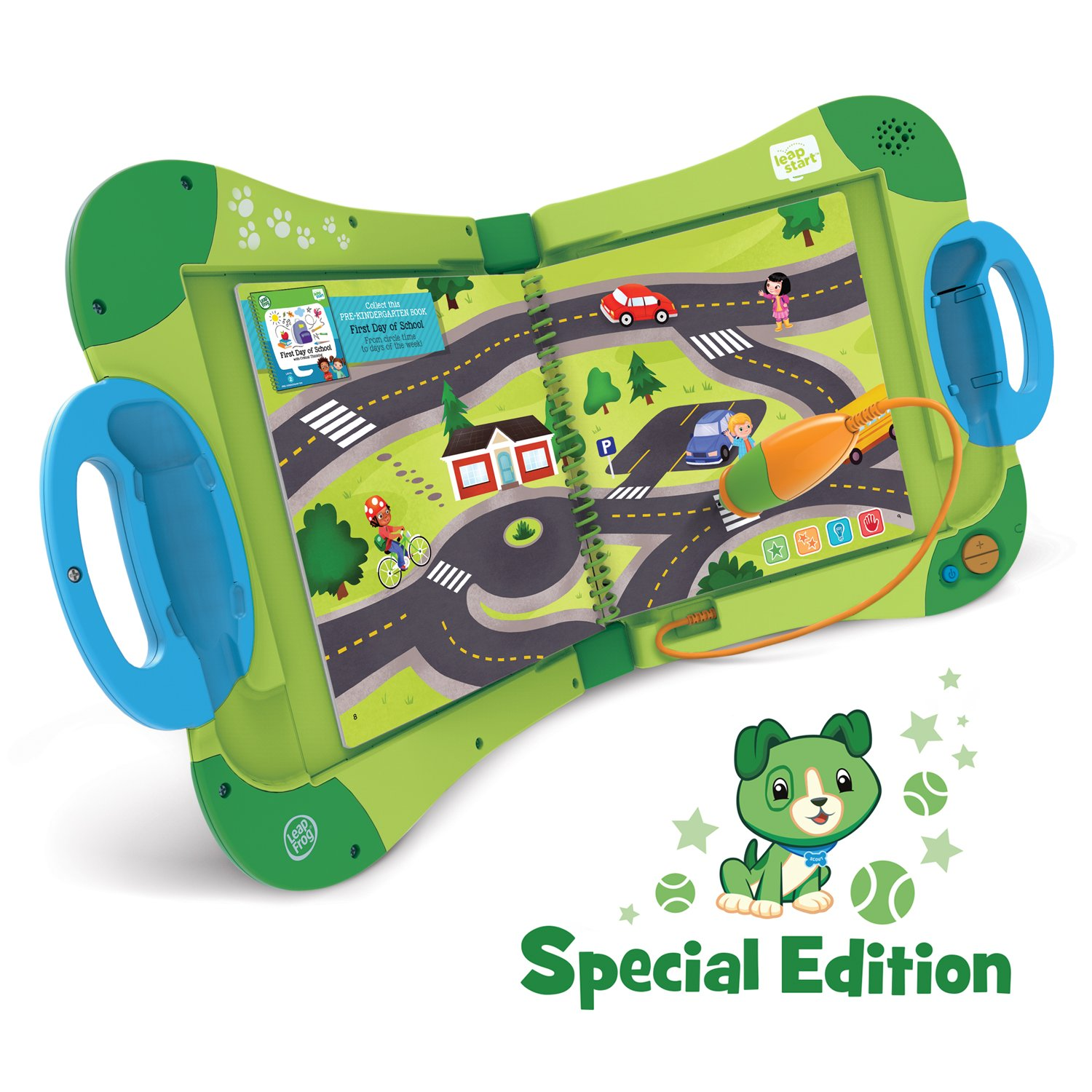 LeapFrog Leapstart Interactive Learning System for Preschool and Pre-Kindergarten-My Pal Scout Online Special Edition