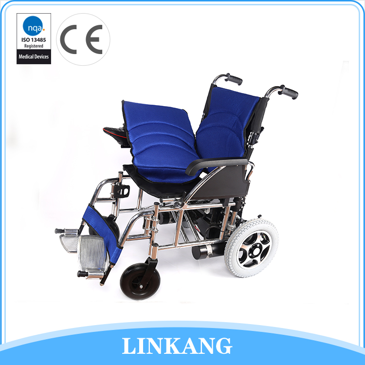 Modern design electric folding wheelchair