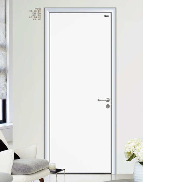 Plain White Door plain white door aluminium frame interior door - buy aluminium