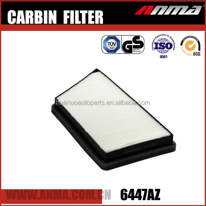 Auto Cabin Air Filter For 6447AZ For Car Engine In China