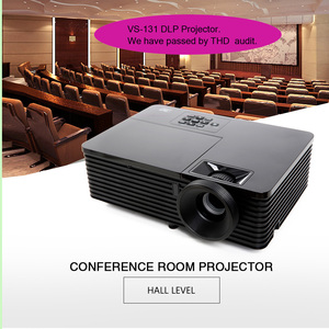 High brightness 3000 Lumen DLP long throw focus projector or beamer