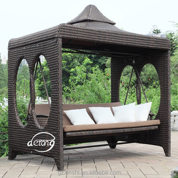 Outdoor Home Garden 4 Seat Swing Chair Pation Furniture