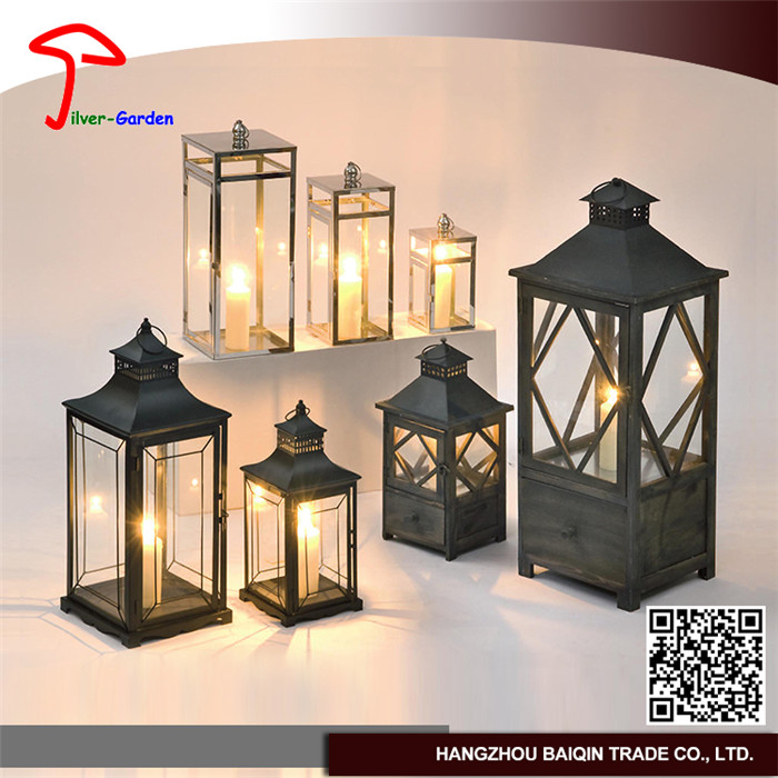 Professional Manufacture Normal Styles Metal Lantern For Wedding