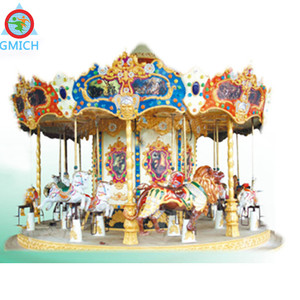JMQ-P176B popular sale amusement park carousel horses for sale merry go round carousel