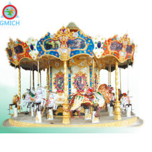 Popular sale carousel,merry go round, amusement park carousel horses for sale JMQ-P176B