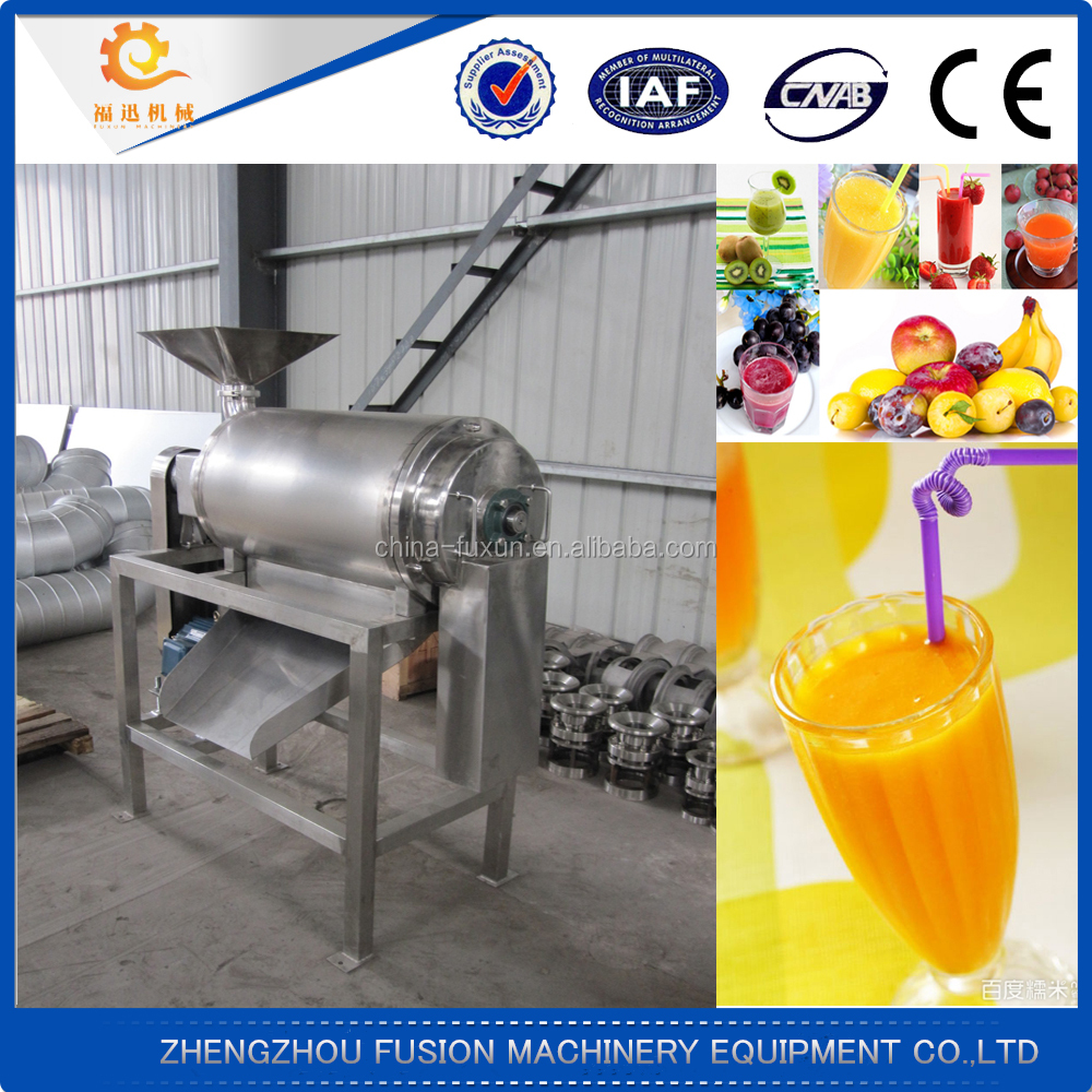 Widely used tropical fruit pulping machine