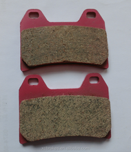 High quality pure ceramic motorcycle brake pads suitble for BMW G650 ,F800 GT,DUCATI 620 ,MOTO GUZZI 750