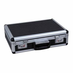 17 inch Black aluminum briefcase/ laptop/attache  laptop case/hard custom show case for business people