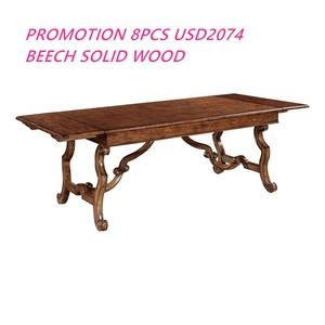 High Quality Antique American Chair and Table for Dining Room Furniture