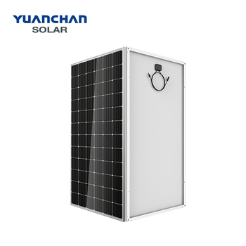 Full black frame mono 310watt solar panel for power station with high efficiency