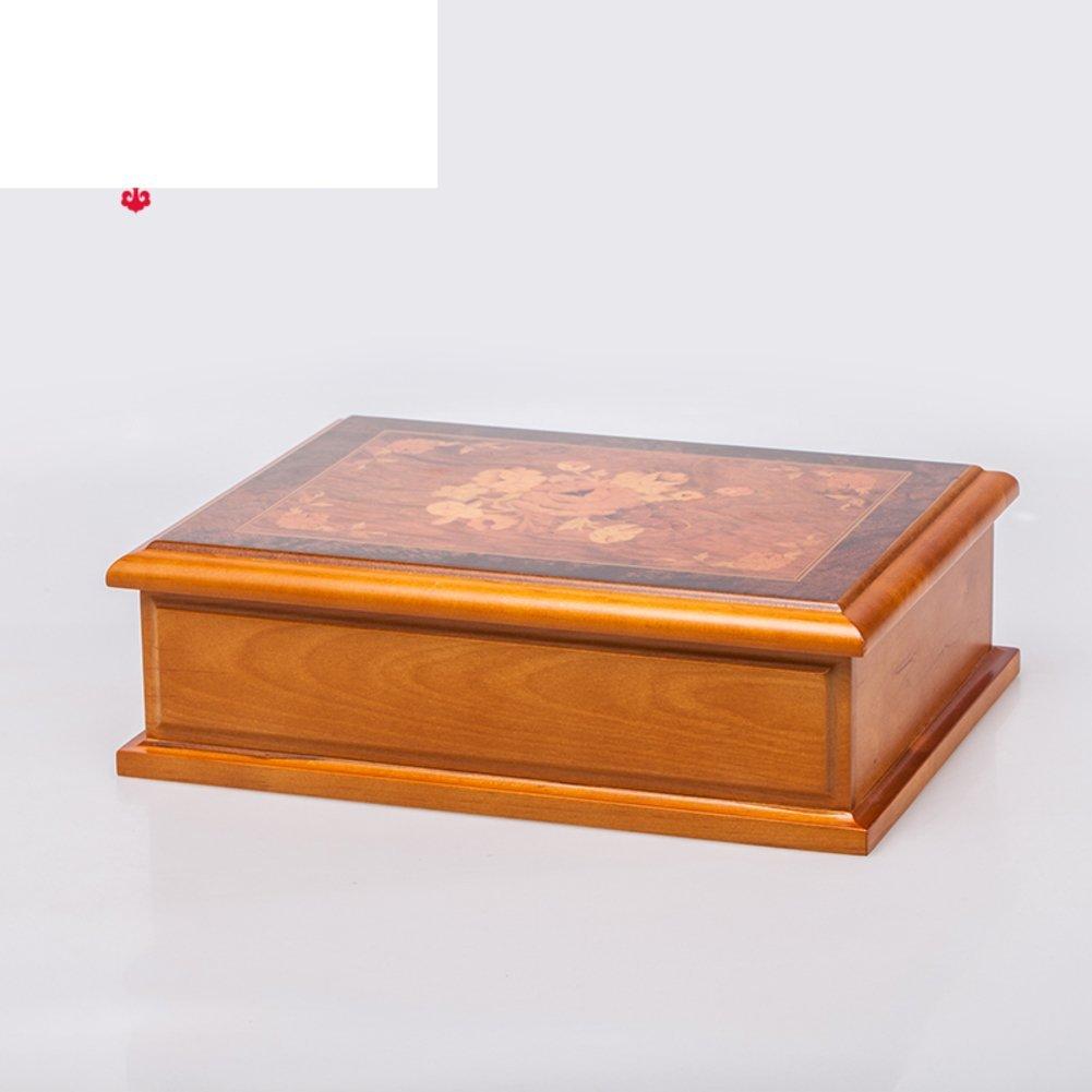 Quality Vintage Solid Wood Jewelry Box/ Jewelry Box/ Jewel Box/Necklace  Hand Ornament