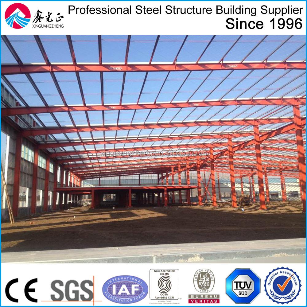 Portalrahmen Stahlkonstruktion Industriehalle - Buy Pirce Für ...