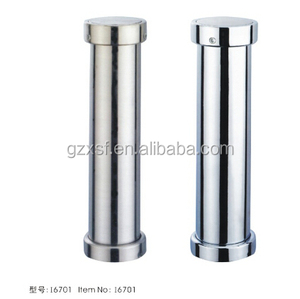 Hot sale bar stays straight iron pipe material light chrome finished