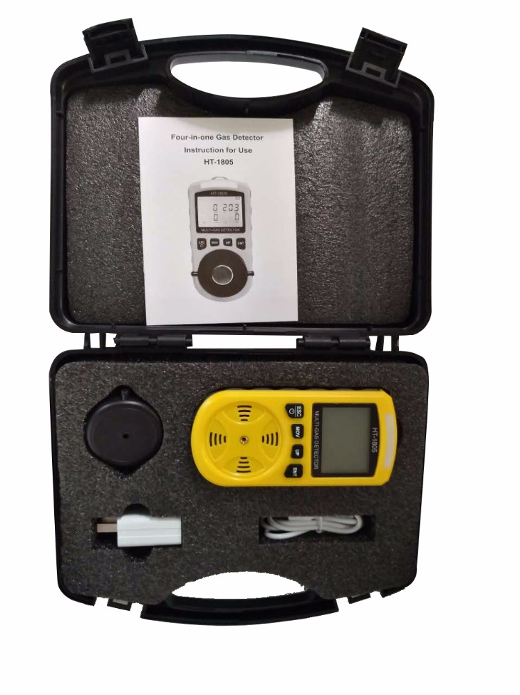 Hti Direct Promote Ht-1805 Four In One Gas Detector - Buy