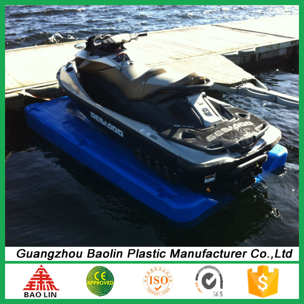 New plastic product floating jet ski dock for sale China manufacturing