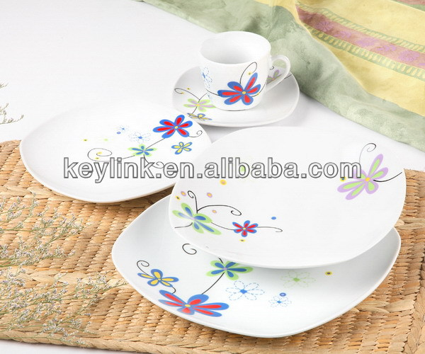 Top quality most popular wedding hall porcelain dinnerware