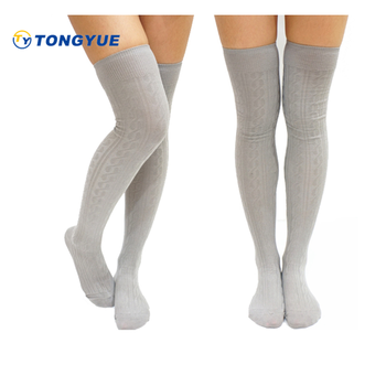 Ty 1040 Cream Knee High Socks Knitting Pattern Knee High Socks