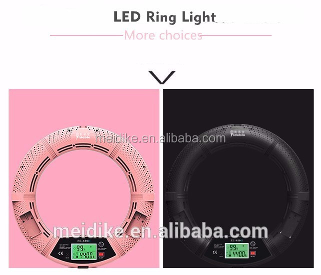 2017 new arrival hot sale Continuous Ringlight HDR Portrait led ring light photography with high quality