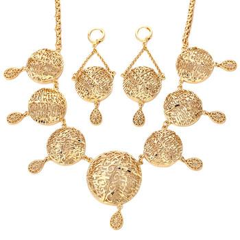 102036222c5 62855-Xuping 18 k Jóias de Ouro Conjunto de alta qualidade bijuterias  Atacado China Jóias