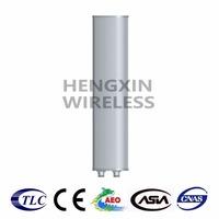 1710-2170MHz Gain 18dBi High Band Dual-polarization Antenna GSM1800/TD-SCDMA/WCDMA Antenna HXH-6518D-EF