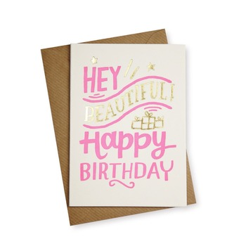 2018 Custom Printing Paper Card Happy Birthday Greeting Cards Photo